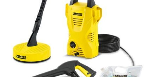 Karcher K2 Compact Home Pressure Washer At Homebase Be Inspired And Make Your House A Home Pressure Washer Electric Pressure Washer Washer Hoses