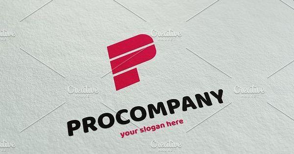 PROCOMPANY – Letter P logo