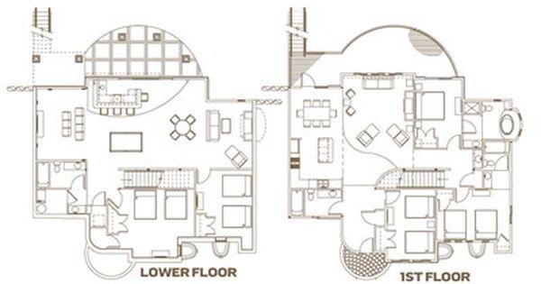 Entertainment Villa Floor Plan Wisconsin Dells Water Park Room