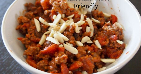 Picadillo Chili Recipe Budget Paleo - TRIED - favorite with the following