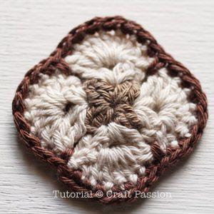Crochet African Flower Purse Free Pattern Crochet African