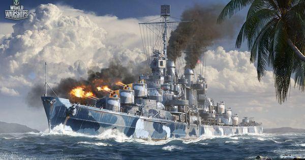 #USS #Cruiser #Atlanta | Wallpapers | Pinterest | Military ...