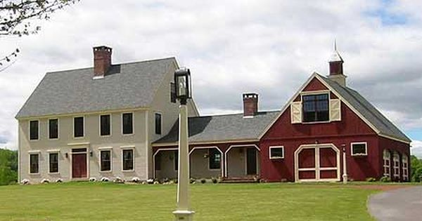 Traditional country house plans home designs exterior for Farm barn plans