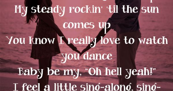 Baby Be My Love Song ~ Easton Corbin Country Music Pinterest Easton corbin, Songs and ...