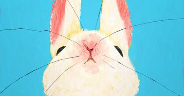 sweet bunny art