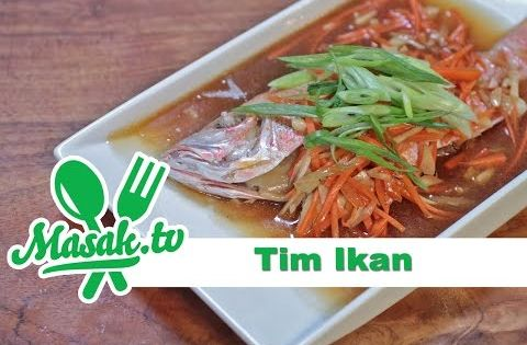 Tim Ikan Steamed Fish Recipe Resep 155 Youtube Resep Makanan Resep Ikan Makanan