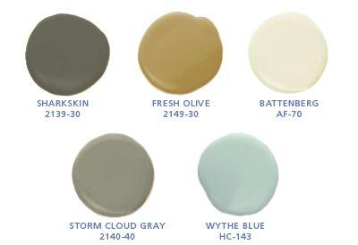 Benjamin Moore Earth And Sky Palette Favorite Paint Colors Trending Paint Colors Favorite Paint