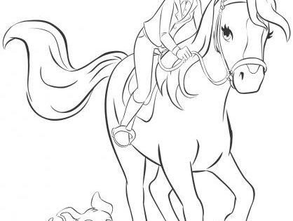 lego friends pferde ausmalbilder
