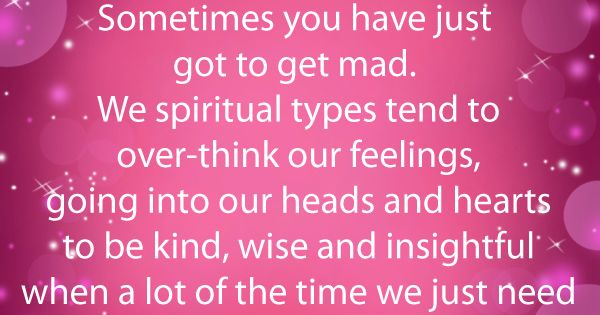 Guilty feelings we tend to have