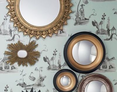 Miroir design miroir d co notre s lection de miroirs for Miroir miroir blanche neige