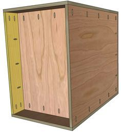 European Style Base Cabinet Plans