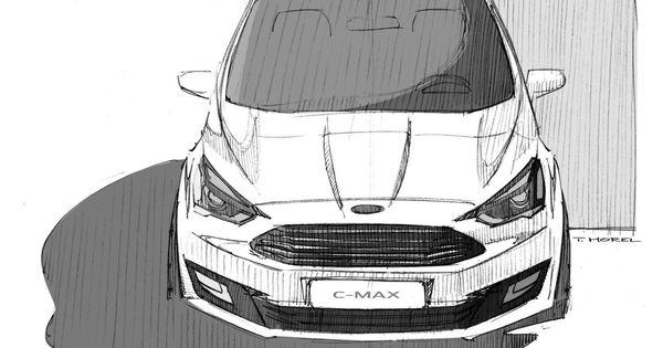 Automotive Design Ford C Max 2015 Facelift Automotive Design