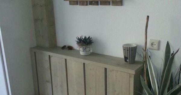 Leuke ombouw voor de verwarming in de hal huis pinterest entree leuke idee n en idee n - Deco gang huis ...