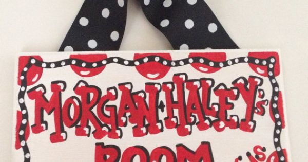 Razorback Classroom Decor : Arkansas razorbacks dorm room sign hand painted