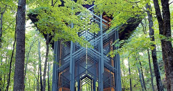Architizer save arkansas 39 thorncrown chapel from a for E fay jones architecture