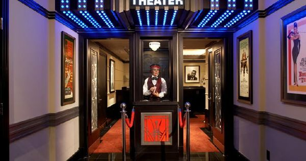 Home Theater Entry So Cool Interiors And Outdoor
