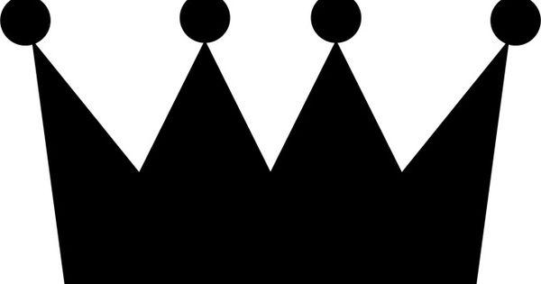 Printable Stencil Crown