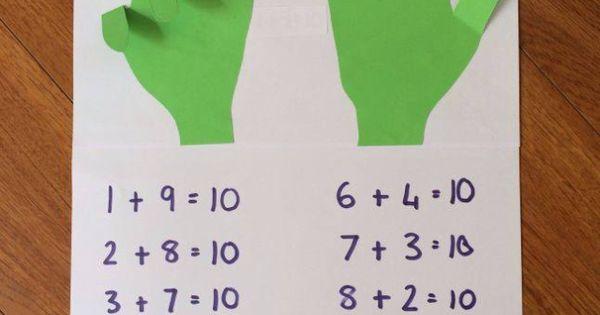 Practical way for children to understand number bonds to ...