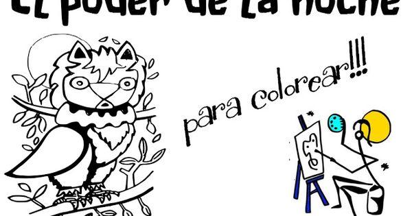 Dibujados para colorear: El poder de la noche | Dibujados para ...