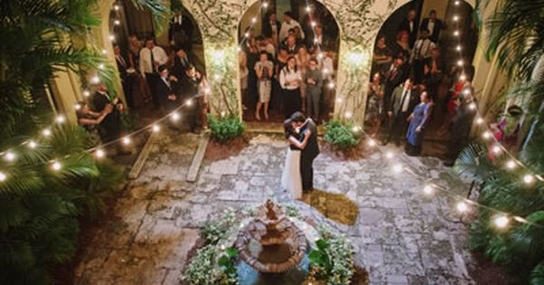 Villa Woodbine Coconut Grove Florida Wedding Venues 6