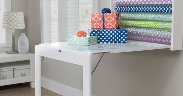 We R Memory Keepers Fold Down Gift Wrap Table Do Crafts