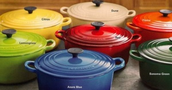 le creuset most of these colors are retired everything food pinterest le creuset. Black Bedroom Furniture Sets. Home Design Ideas