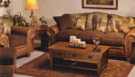 wilderness livingroom furniture by marshfield furniture the log furniture store free. Black Bedroom Furniture Sets. Home Design Ideas