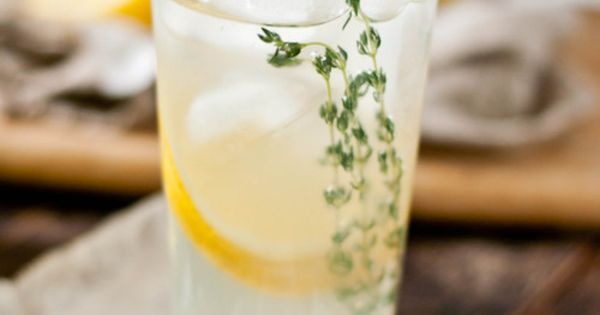 [Lemon-Thyme Tequila Spritzer for Taste of Home]