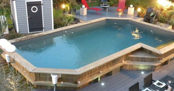 photo des plus belles piscines en bois piscine hors sol piscines et mission. Black Bedroom Furniture Sets. Home Design Ideas