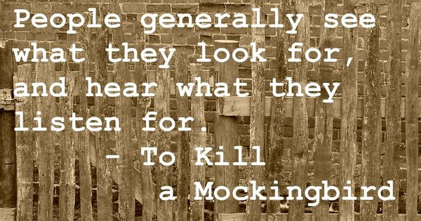 Book Quotes - To Kill a Mockingbird - Harper Lee