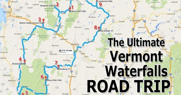 The Ultimate Vermont Waterfall Road Trip Is Right Here And You