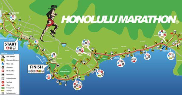 Course Description Honolulu Marathon Training Full Marathon