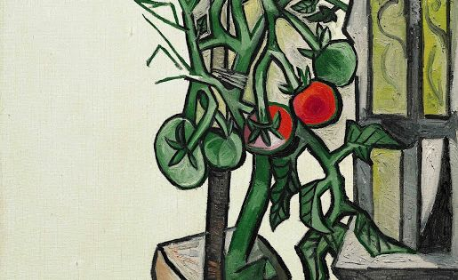 Pablo Picasso ~ Plant de tomates, 7 août, 1944. (In the ...