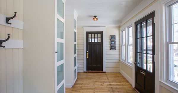 Foyer Mudroom Units : Gorgeous mudroom built in pax storage ikea