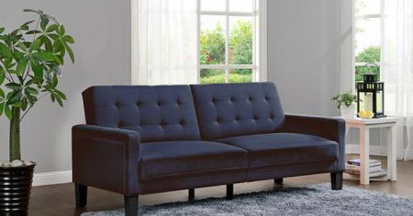 Better Homes And Gardens Porter Fabrictufted Futon Multiple Colors Futons Colors And Paris