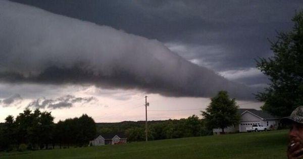 Horizontal Tornado in Albemarle, NC yesterday. Damage is ...