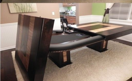 Epic Poker Table/Dining Table U2013 This Is Happening In My Next Home! March  15, 2017 At 09:45AM