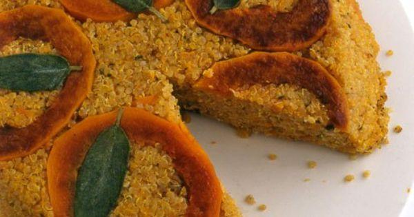 Quinoa Pie with Butternut Squash | Recipe | Quinoa, Butternut Squash ...