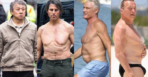 Pin By Sarah Pilgrim On Top List Old Bodybuilder Transformation Body Celebrity Workout