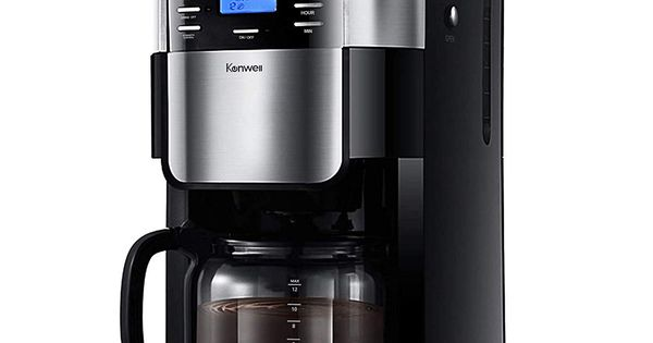 Kenwell Coffee Maker With 10 Cup Programmable Thermal Coffee Maker And Strong Brew Glass Carafe
