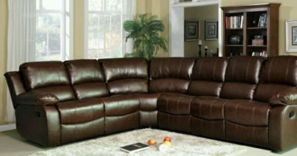 Designer Luxury Designer Miami Leather Corner Recliner 3c2 Sofa Brown 7 Seater Recliner Corner Sofa Brown Sofa Leather Recliner