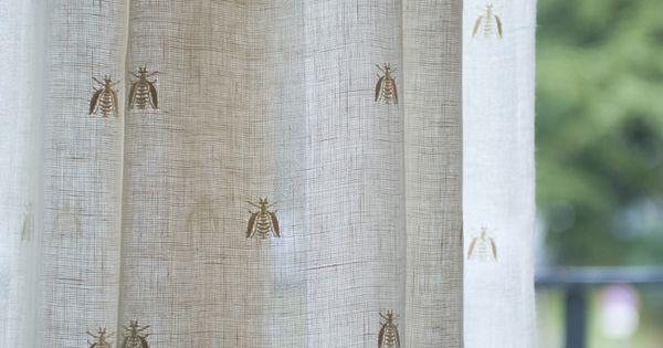 Mastro Raphael Api Bee Lino Linen Tende Curtains
