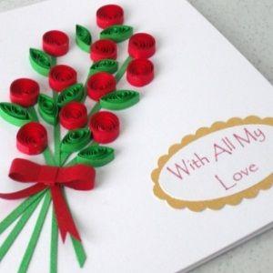 Homemade Greeting Cards Valentine Card Ideas