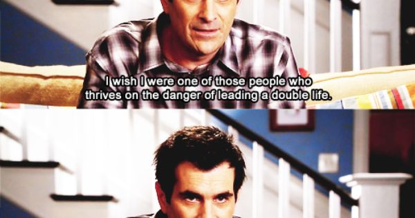 Modern Family. Phil Dunphy makes me laugh!