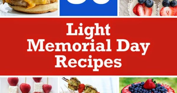 memorial day light desserts