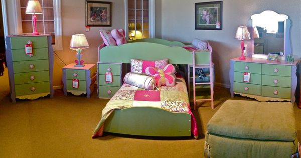 Best Young Girls Toddler Flower Theme Kids Bedroom Furnishings Provided By Ashley Furniture For 400 x 300