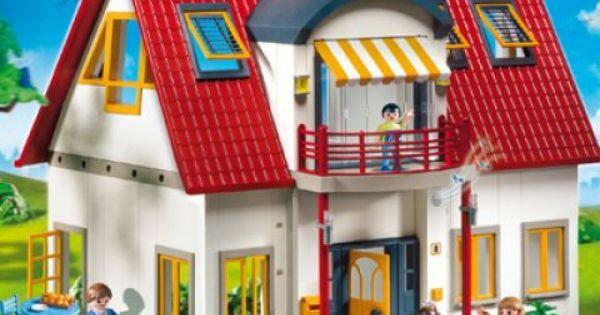 Playmobil 4279 suburban house bella pinterest for Casa moderna 4279