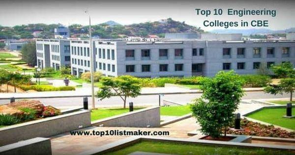 Top10engineeringcollegesincoimbatoreunderannauniversity Top 10 Engineering Colleges In Coimbato Engineering Management College Architecture Education In India