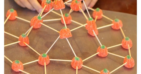 Building Structures with Candy Pumpkins | Candy pumpkin ...
