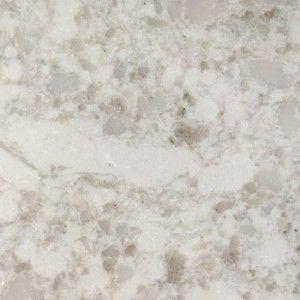Viatera Quartz Slabs White Pearl In Satin Finish Quartz
